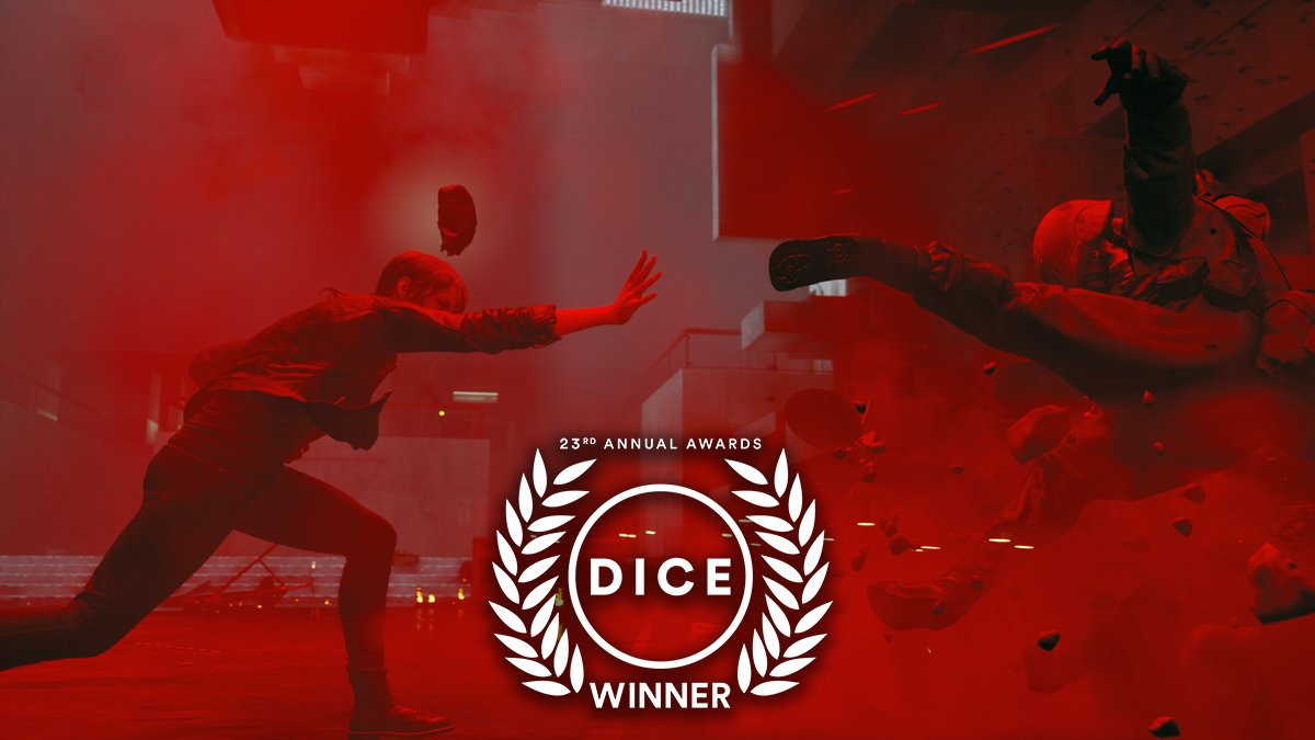 Congratulations to @ControlRemedy for taking home the #DICEAward for Action Game of the Year!