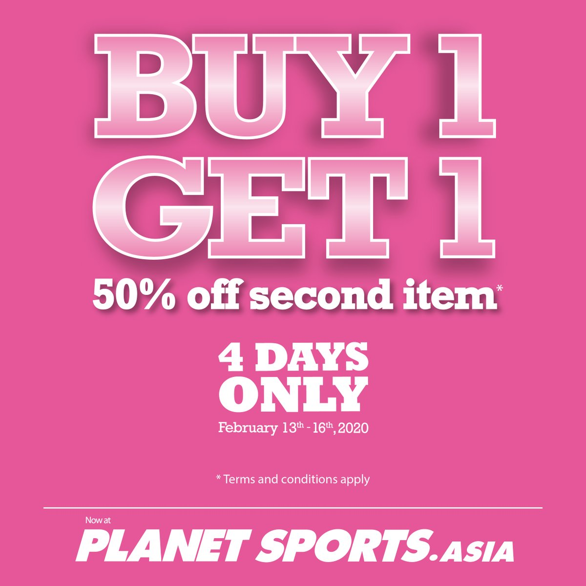 Senayan City On Twitter Get 50 Off For Second Items T C Apply Visit Planet Sports Senayan City 3rd Floor For Further Information