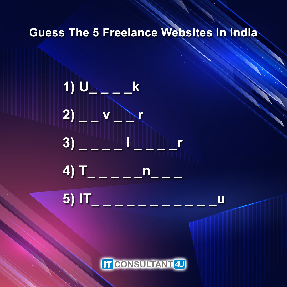 #ContestAlert #WeekendContest  Comment below the correct answer using #ITConsultant4u & tag us  Also, tag your 10 friends  Winners will be chosen randomly by us and that's final  Participants must follow us on all social media platforms (FB, Insta, Twitter & LinkedIn)pic.twitter.com/SltmqgiKJB