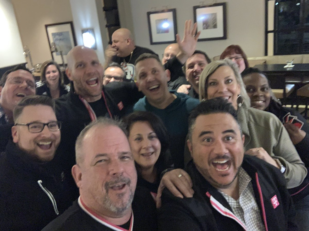 DM/TM Training @TMobile in Frisco. Great group of leaders ready to take on our next victories! #family #wewontstop #beyou #fun #larry @MetroByTMobile @tmobilecareers