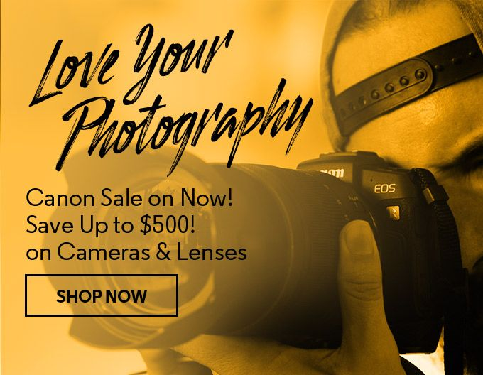 Love Your Photography with our Canon sale!  Save up to $500 off selected Canon cameras and lenses! Shop online now: https://buff.ly/2wKfKhf  Offers valid 14 - 19 February 2020 #canonlove #canonaustraliapic.twitter.com/VgqJvUJrnF