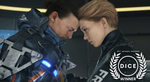 Thank you for all those supported #DeathStranding for tonight's 23rd Annual D.I.C.E. Awards 🎊 🏆Outstanding Technical Achievement 🏆Outstanding Achievement in Audio Design  Congratulations to all the Finalists and the Winners!  #DICEAward #DICE2020 @Official_AIAS