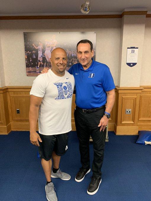 Happy belated birthday to Coach Mike Krzyzewski, better know as Coach K.