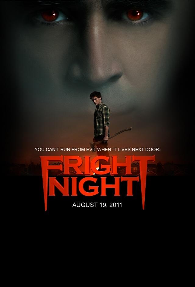 "#3DThursday Fright Night3D (2011) by #CraigGillespie & #MartiNoxon w/ #AntonYelchin #ColinFarrell #ToniCollette #DavidTennant #ImogenPoots #ChristopherMintzPlasse #SandraVergara #ChrisSarandon #LisaLoeb & more! ""You can't run from evil when it lives next door."" #Horror #3Dpic.twitter.com/GWgxuWUK6C"