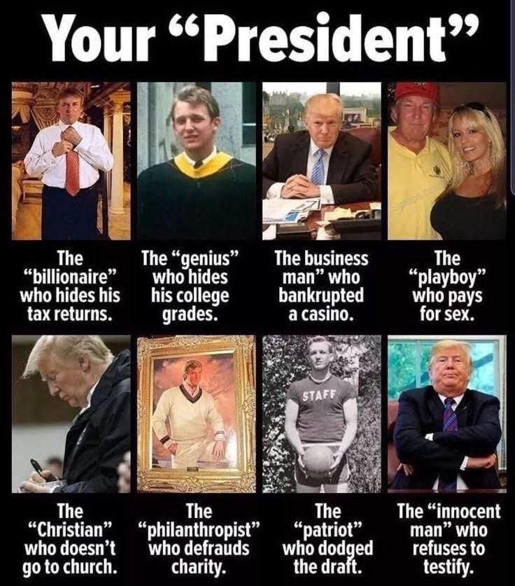 """President"" Trump. #ThingsFakeAF <br>http://pic.twitter.com/hM8O3P1AwT"