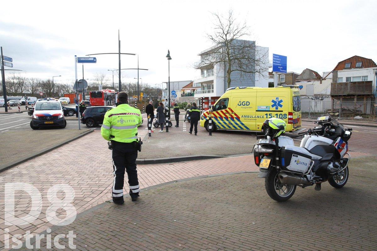 Melding hulpdiensten Zuidwal Delft