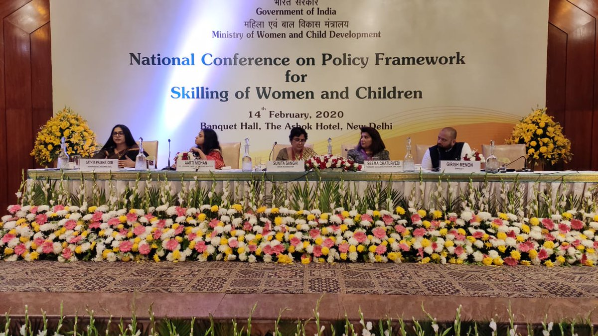 Session on Leveraging Technology & Financial Accelerators for Women Led Economy during the day long conference focussed on enablers markets & finance, economic independence, imperatives for investing in women, connecting rural-urban gap & Entrepreneurship Development Programmes.