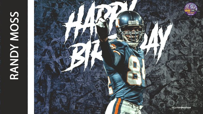 Join Vikings Nation in wishing Randy Moss a happy 43rd birthday!