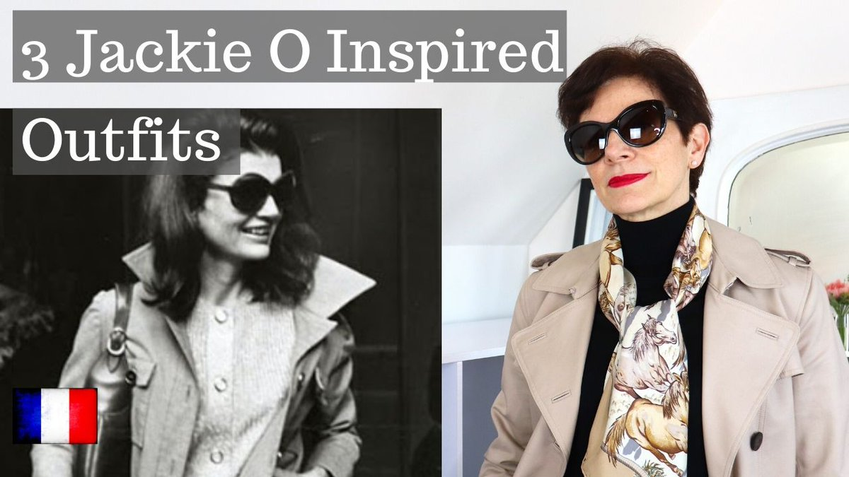 Go! Go! Jackie O! Tonight at 9pm #Paris time 3 outfits inspired by one of my own #styleicons #JackieO https://youtu.be/Mvu-_3imqhM   #frenchchic #frenchstyle #outfitofthedaypic.twitter.com/qn8DHRdIOF