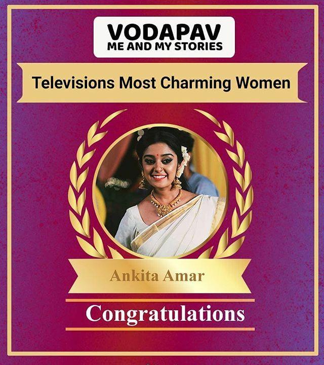 Here is the Result Of Most Charming women  @ankita.amar #ankitaamar #nammaneyuvaraanifans #nammaneyuvaraani #meera #kannadaserials @aniketh_meera_fc @ani_meera_fans.club @_.ani.saaku.meera.pranam._fp @aniketh_deepak_fcpic.twitter.com/7Pk71APte2