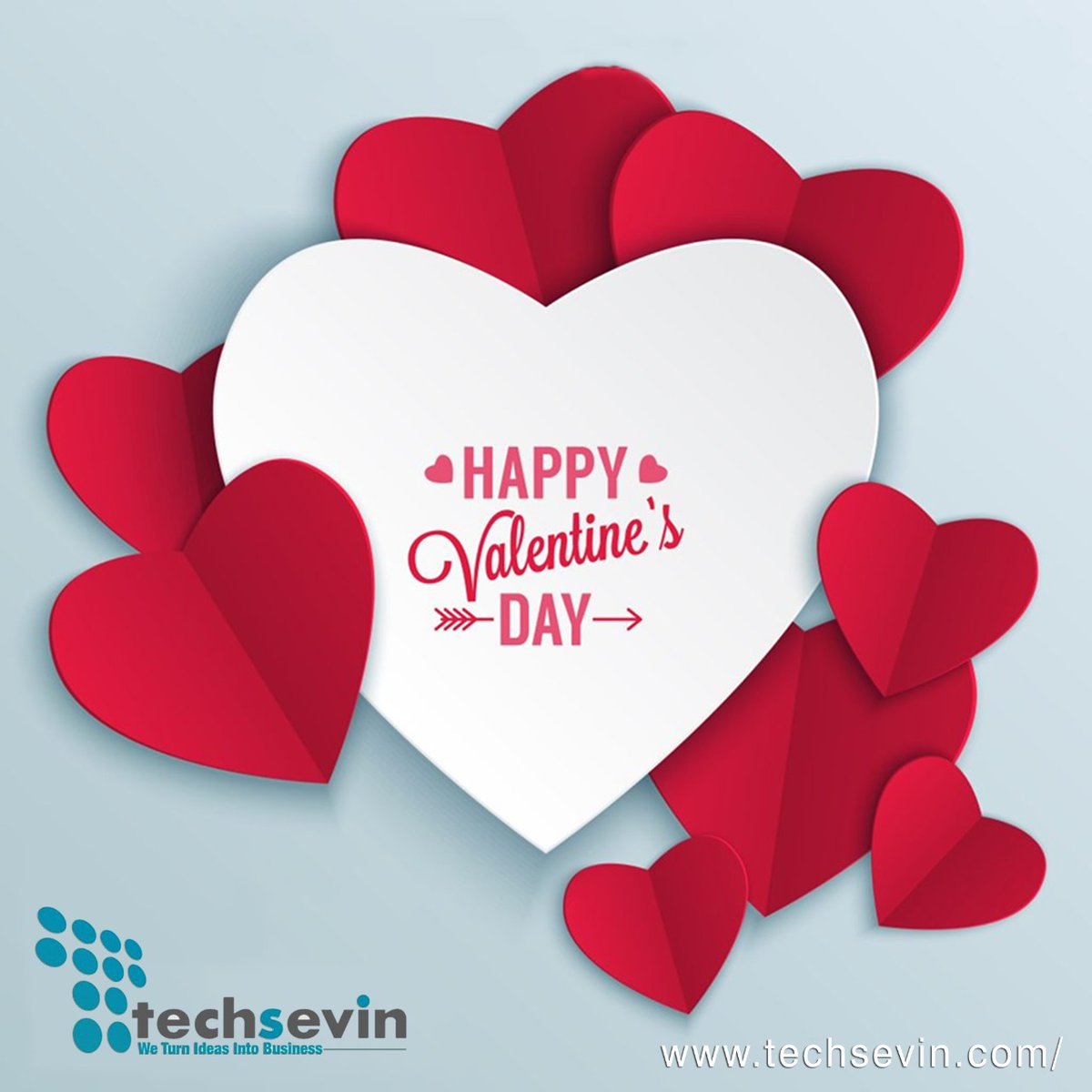 Wishing you all HAPPY VALENTINE'S DAY from team TECHSEVIN  #teamtechsevin #Valentine2020 #14februray #valentinesday #valentineweek #monthoflove #vday #corporatevalentine #corporatehumor #ceolife #softwaredeveloper #softwaretesting #software #technology #technologyrocks pic.twitter.com/uFwHmyXU8n