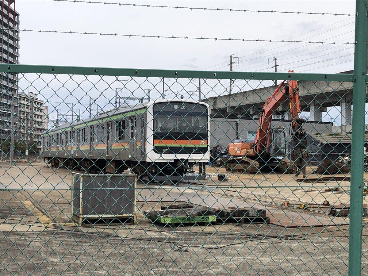 【廃車】209系3100番台宮ハエ61編成が郡山で解体される