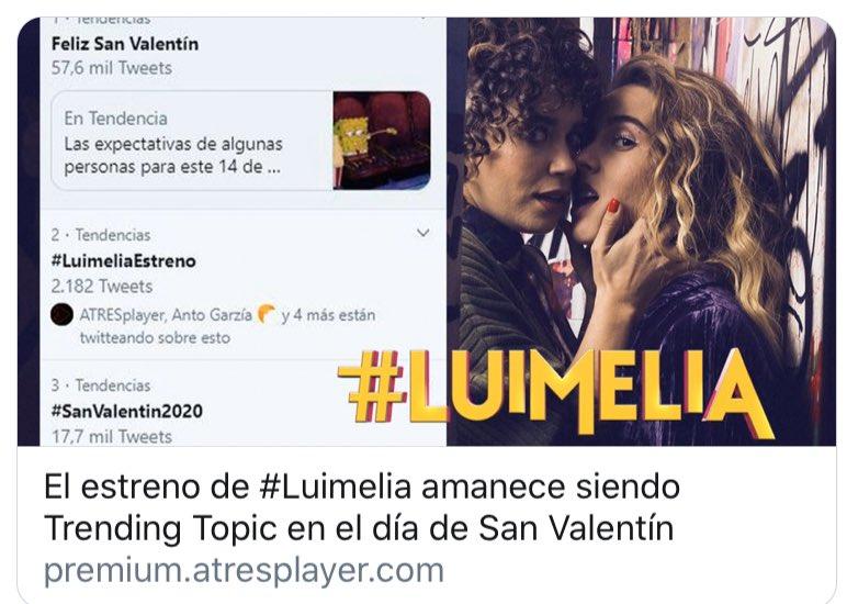#LuimeliaEstreno Foto