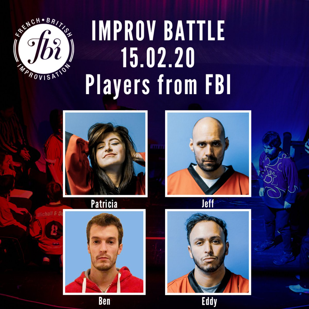 Our comedians are ready for tomorrow's Improv Battle! Last Tickets : https://www.ticketsource.co.uk/fbi-improvisation …  #londoncomedy #londontheatre #francaisalondres #improvpic.twitter.com/2nUBXYwcWh
