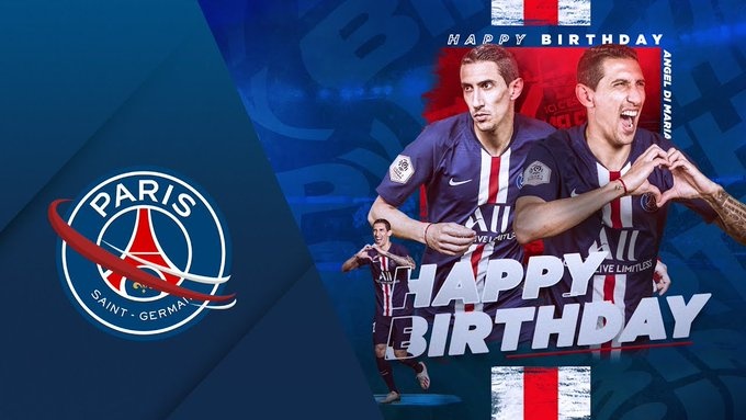 HAPPY BIRTHDAY ANGEL DI MARIA -
