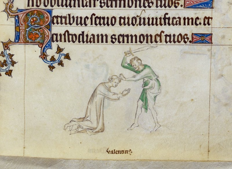 Replying to @BLMedieval: Who was St Valentine and how did he become associated with lovers?