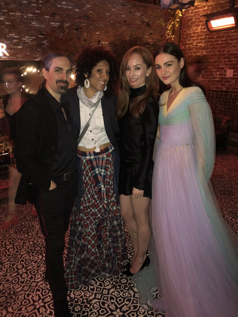Had a blast at the @Outlander_STARZ after party! @SkeltonSophie @lotteverbeek1 @RayaYarbrough #OutlanderSeason5Premiere <br>http://pic.twitter.com/pqFOMlf7DD