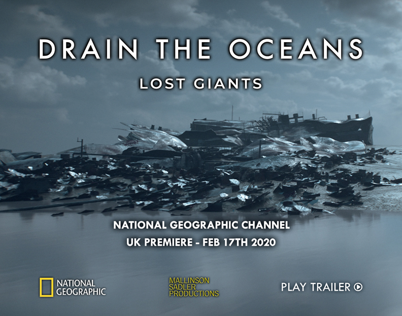 Our next UK premiere - featuring some truly frightening stories and some awe/inspiring wrecks