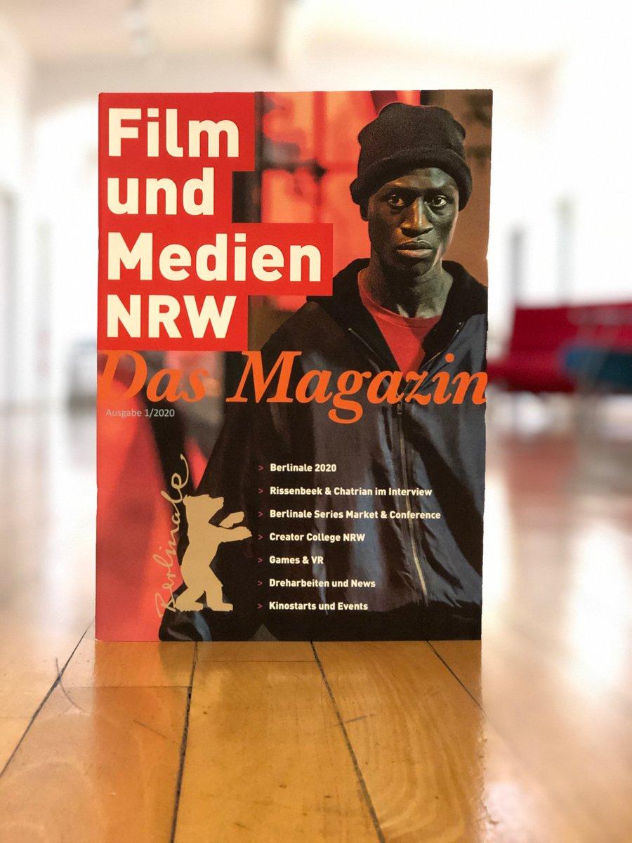 Das neue Magazin 1/2020 FILM UND MEDIEN NRW ist da –zum Online-Durchblättern: https://bit.ly/2HqTNZW  Mit allen Infos u.a. zur @berlinale, zum #CreativeCollegeNRW, zu Dreharbeiten, Kinostarts und Events. pic.twitter.com/Zios0ZY32x