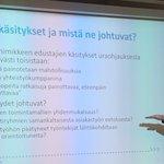 Image for the Tweet beginning: #aitu2020 @jaakkohelander @HAMK_Edu @ProjektiUraa pohtii #ohjaamo