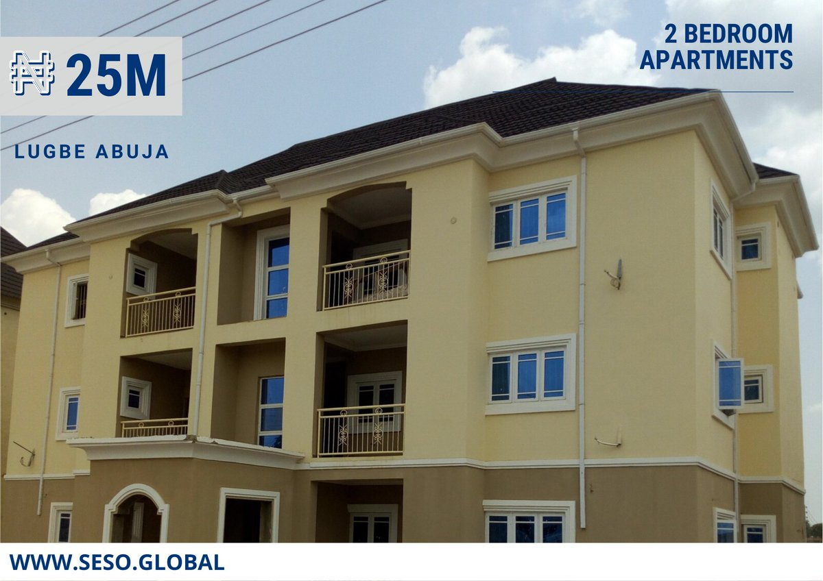 Seso Global On Twitter 2 Bedroom Apartments For Sale In River Park Estate Lugbe Abuja This Beauty Is Located In One Of The Most Serene Estates In Abuja It Is Ideal For
