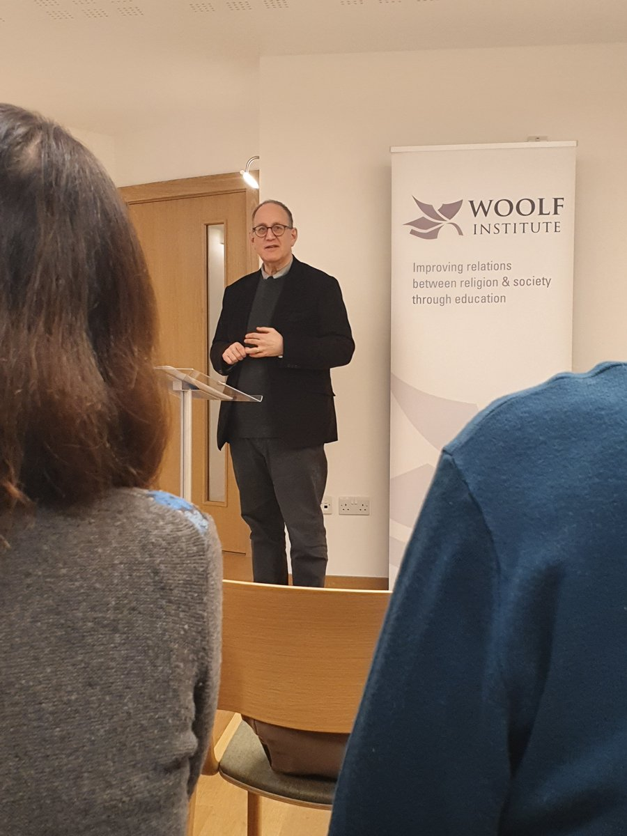 What a busy week of events which concluded with the @Woolf_Institute #Lecture 'On Censorship' given by Anthony Julius @Mishcon_de_Reya LLP  Check out forthcoming events: https://www.woolf.cam.ac.uk/whats-on/events