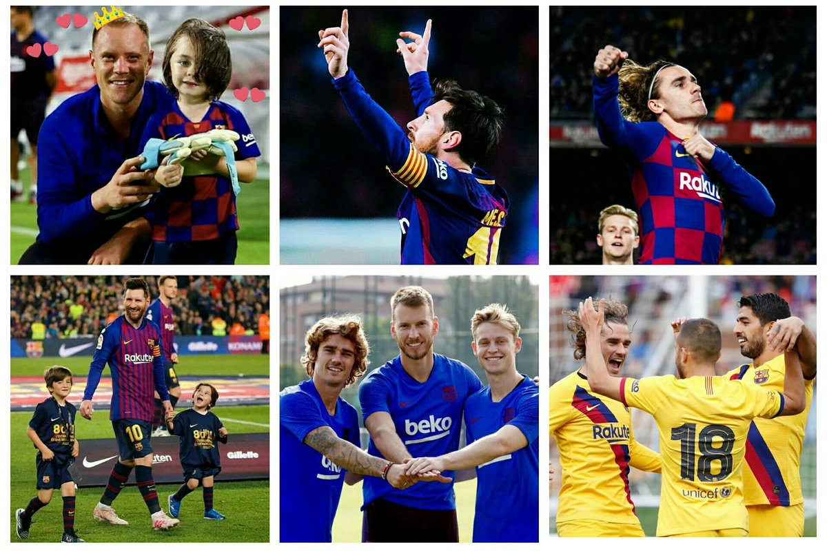 in #Valentine day .. you are my love @FCBarcelona  forever i love you ..in lose in win always forca barça 🤧💙❤