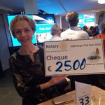Image for the Tweet beginning: Ontzettend blij met de cheque