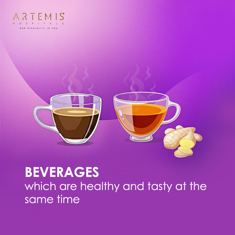 Taking Black Coffee and Ginger Tea once a day helps in curing mild attacks and other small problems by strengthening the immune system. #ArtemisHospitals #MildAttacks #Remedies #BlackCoffee #GingerTea #Beverages #HealthisWealthpic.twitter.com/cRBLQn4XGF