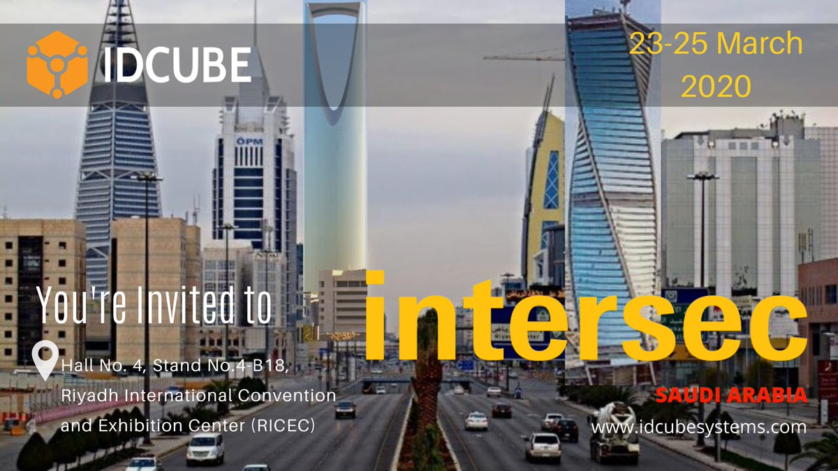 We are all set to participate in #IntersecSaudiArabia. Visit us for discussion of future prospects and collaborative networking.  Visit:  Hall No. 4, Stand No.4-B18, Riyadh International Convention and Exhibition Center (RICEC) #accesscontrol #timeandattendance #securitysystemspic.twitter.com/OfCVAwv2ku