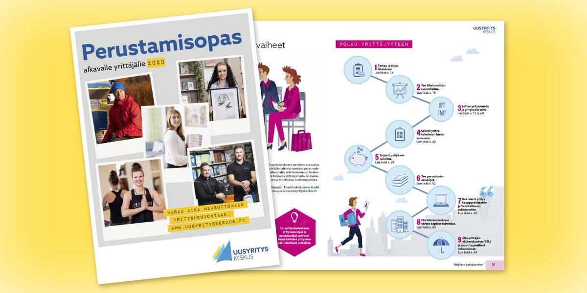 Yrityksen perustamisesta löytyy tietoa myös #Suomifi-verkkopalvelusta: https://t.co/AjeeaZnmon #yritys #yrittäjät #yrittäjyys