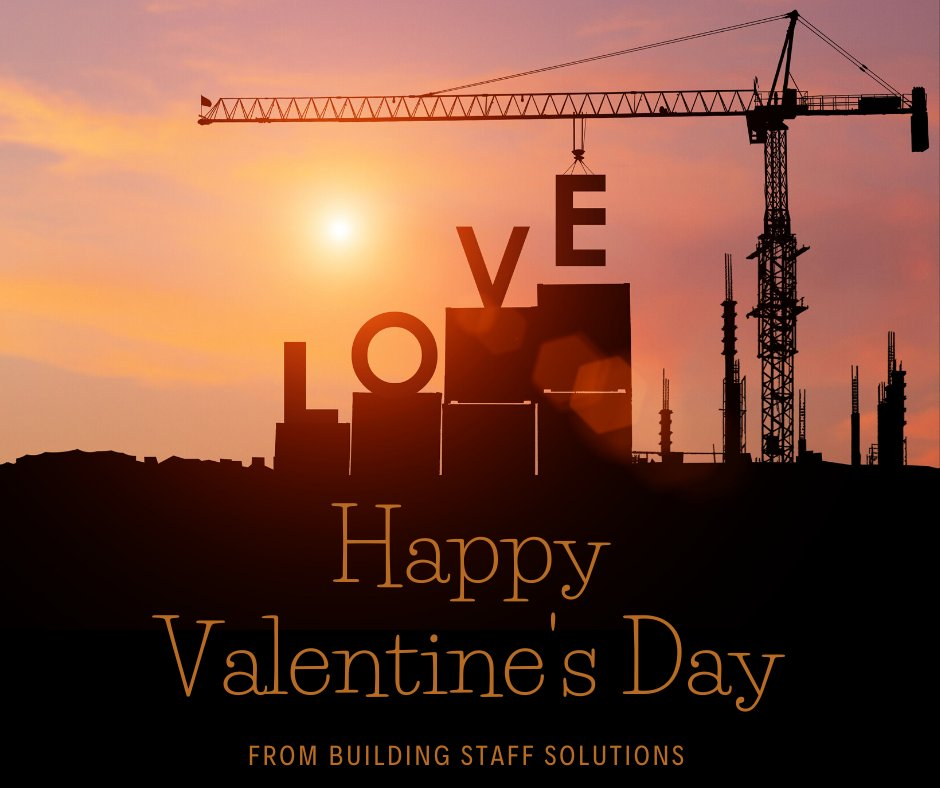 Happy #ValentinesDay!   Why not find your perfect match with Building Staff Solutions?   #nowhiring #jobs #ireland #irishjobs #constructionjobs #construction #constructionrecruitment #constructionprofessionals #constructioncareers #civilengineering #civilconstruction #jobfairypic.twitter.com/bwpzuzw2c3