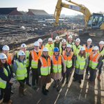 We were delighted to welcome Leeds City Council, Home Group, RLB LLP and Morgan Ashley Care Developments to our recent Turf Cutting ceremony at Westerton Walk, #Leeds. @TorsionGroup @TorsionCare #extracare