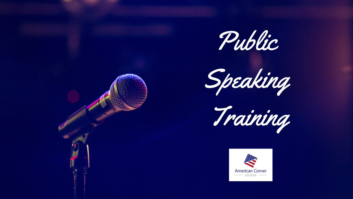 Public Speaking Training 🔊  👉Learn the most important aspects of successful public speaking 📚 👉Meet Barb West 👩 🤝 👉Attend all three workshops and receive a certificate✔️3️⃣📜  🔺Workshop is free, registration is mandatory📝ℹ️👇    #SZTE   2