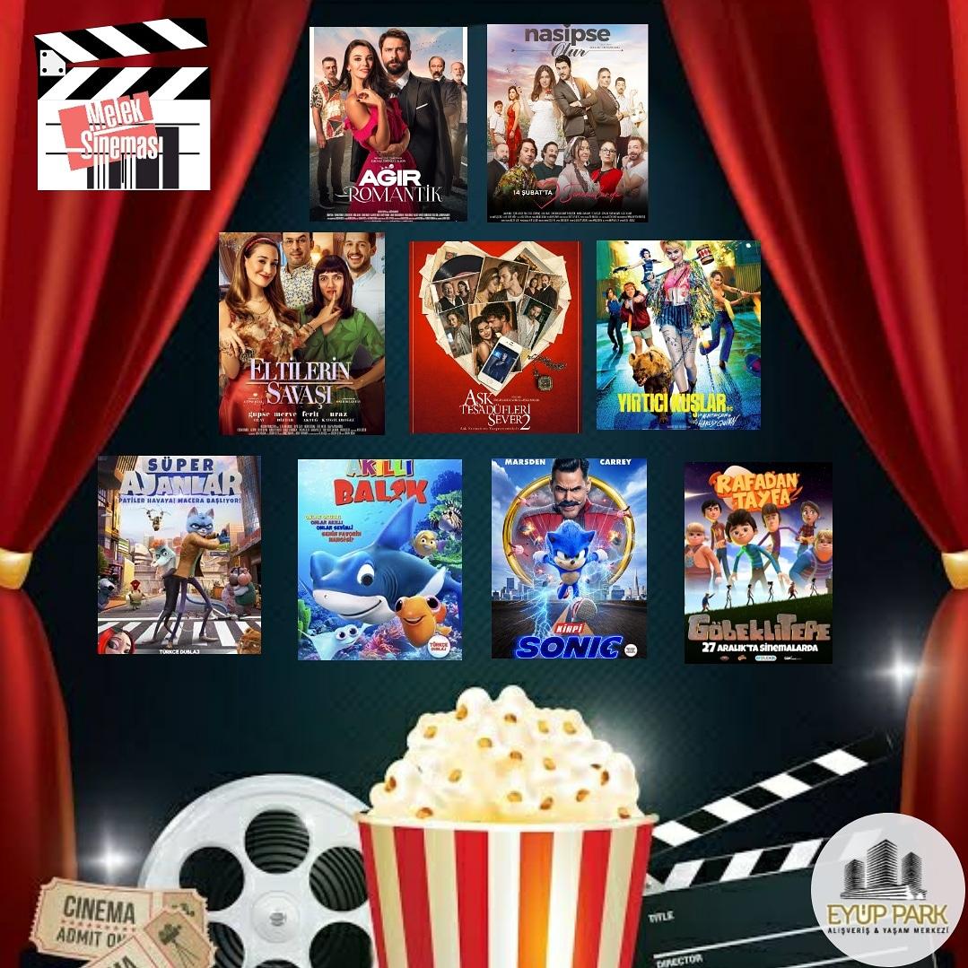VİZYONDAKİ FİLMLER @eyupmeleksinemalari @eyupparkavm #meleksineması  #eyuppark #eyupparkavm #vizyondakifilmler #sinemakeyfi #sinema #popcorn #yesilpinar #eyup #alibeyköy #avrupakonutları #cengiztopel #imarbloklarıpic.twitter.com/1zdLumKjnu