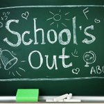 Image for the Tweet beginning: School out! Have a fantastic