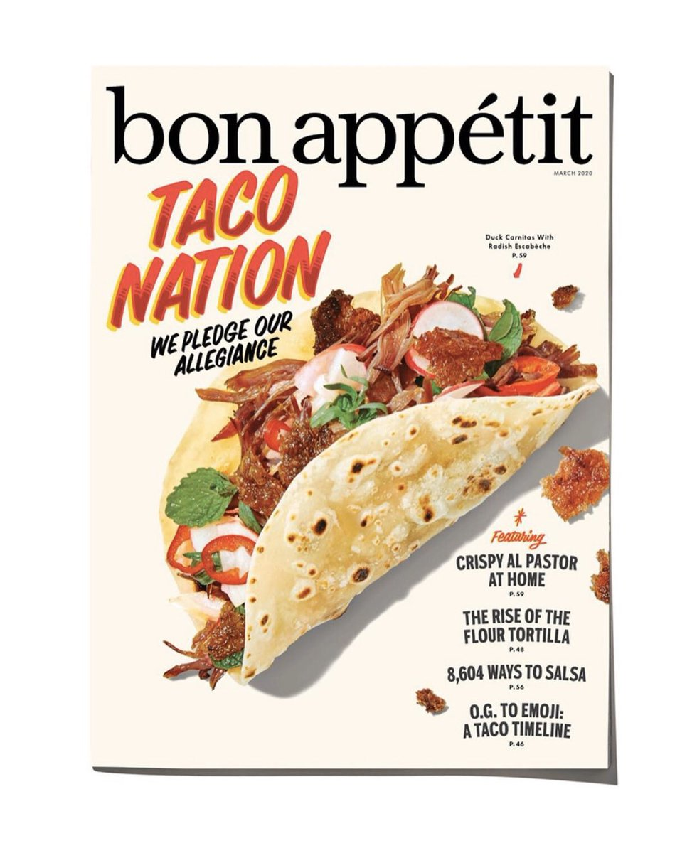 Tacos Unite Us. True story. Just ask me again.  Also Grab your copy or check it out online. @bonappetit doing it right with tacos. https://www.bonappetit.com/story/taco-nation… . . #tacos #austin #atxeats #atxfoodie #tacolife #tacosofinstagram #tacomentary #tacotv #docuseries #tacodocpic.twitter.com/sVcrgZvuFU
