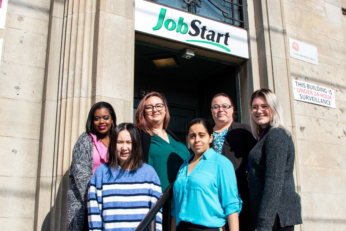 Congratulations Capability Program Graduates! (Check out of few of them in the pics below) - They completed the pre-employment workshop - Now on to ... work placements!   For more info on this program please contact Courtney at 416-231-2295 x 4279 - c.boudreau@jobstart.org pic.twitter.com/UyVdEdJRDb