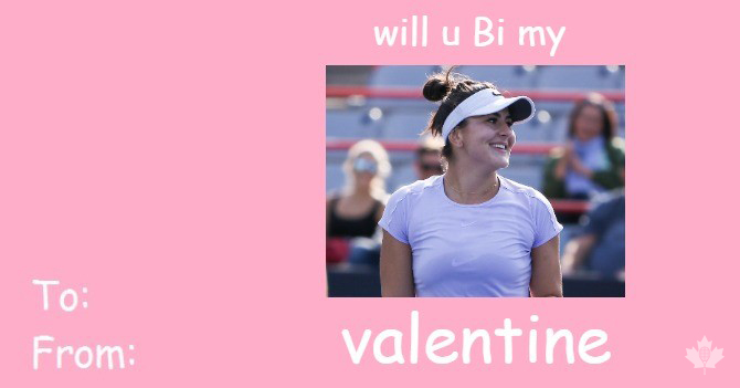 Happy #ValentinesDay et joyeuse #SaintValentin!   Struggling to find the PERFECT Canadian tennis-themed Valentine's Day cards for your special someone? Well don't fret - we've got you covered.  <br>http://pic.twitter.com/k4PaSFyko5