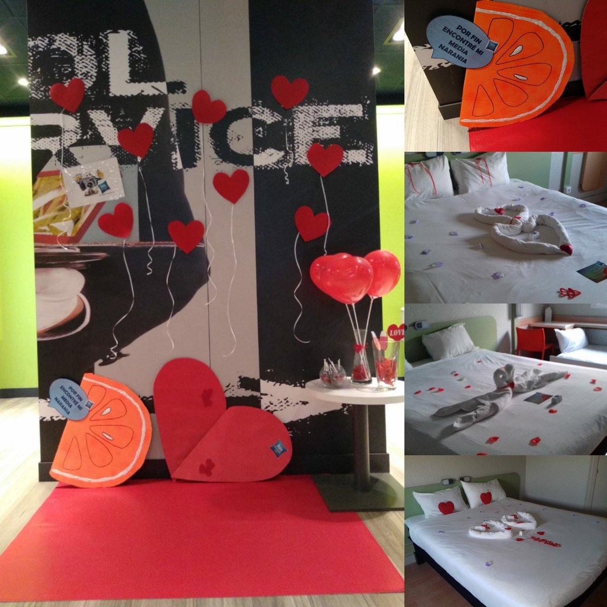 ¡Feliz Día de Los Enamorados! En el #Ibis de #Móstoles ya tenemos todo preparado para que celebreis este día a lo grande con vuestra media naranja. #loveisintheair https://t.co/uWJF3l631m