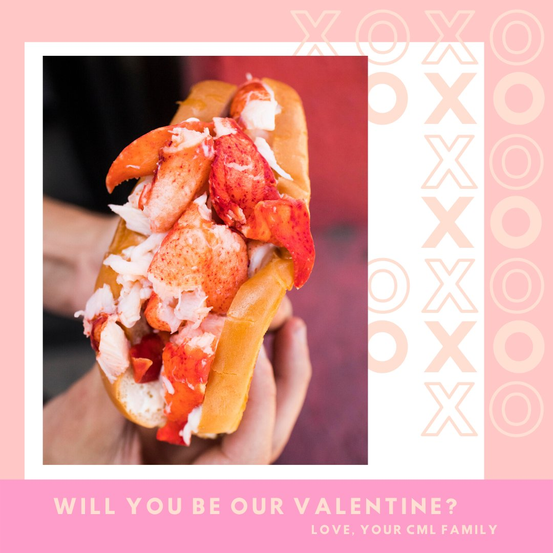 Roses are red, violets are blue, I love eating lobster, but only with you🤗 ❤️HAPPY VALENTINE'S DAY ❤️