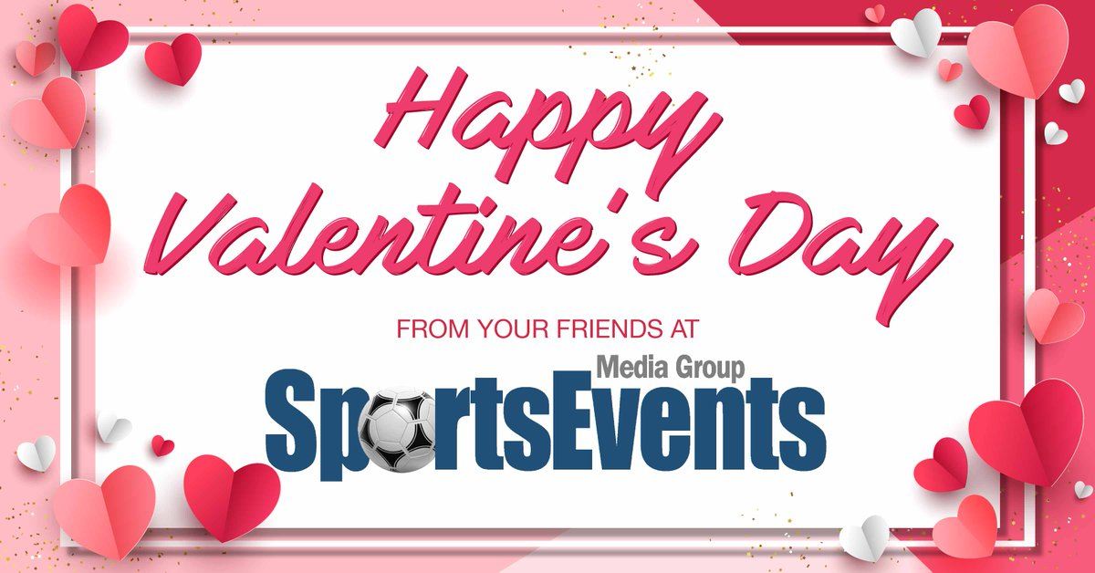 Wishing everyone a LOVE-ly day from all of us here at SportsEvents! pic.twitter.com/t4nAgtigbN