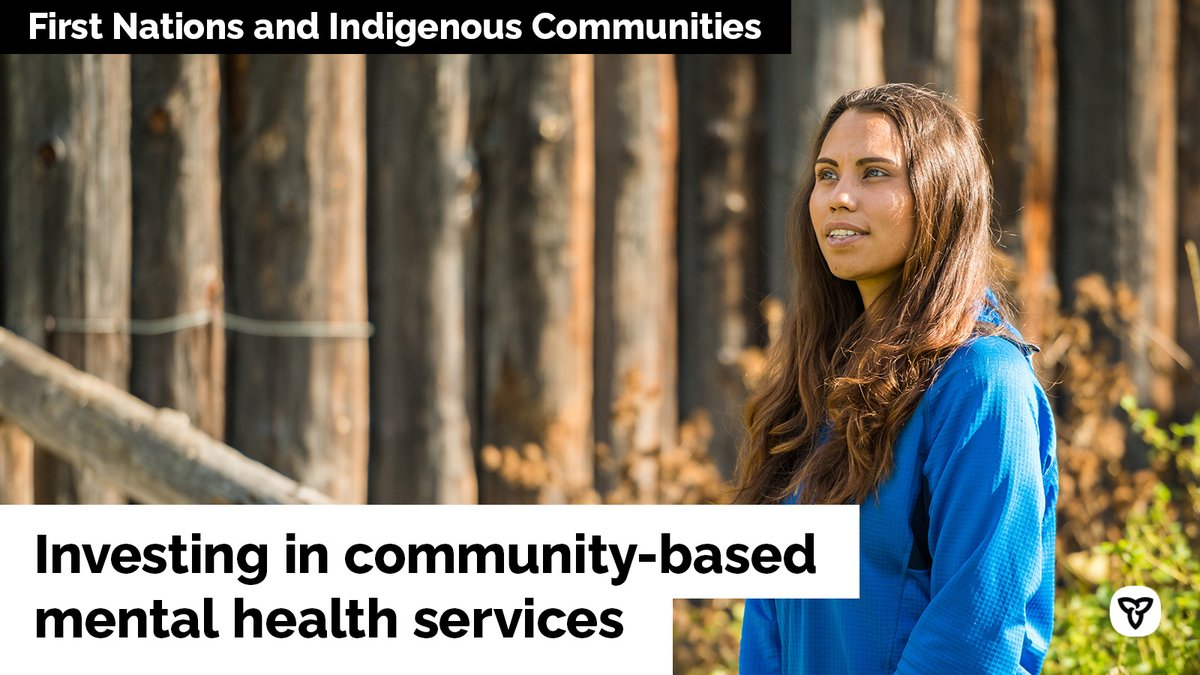 Funding will support: • Batchewana First Nation & @TheOFIFC to expand existing #MentalHealth & wellness programs. • Sioux Lookout First Nations Health Authority to establish a team of #MentalHealth professionals to provide care to #FirstNations youth in northwestern Ontario.