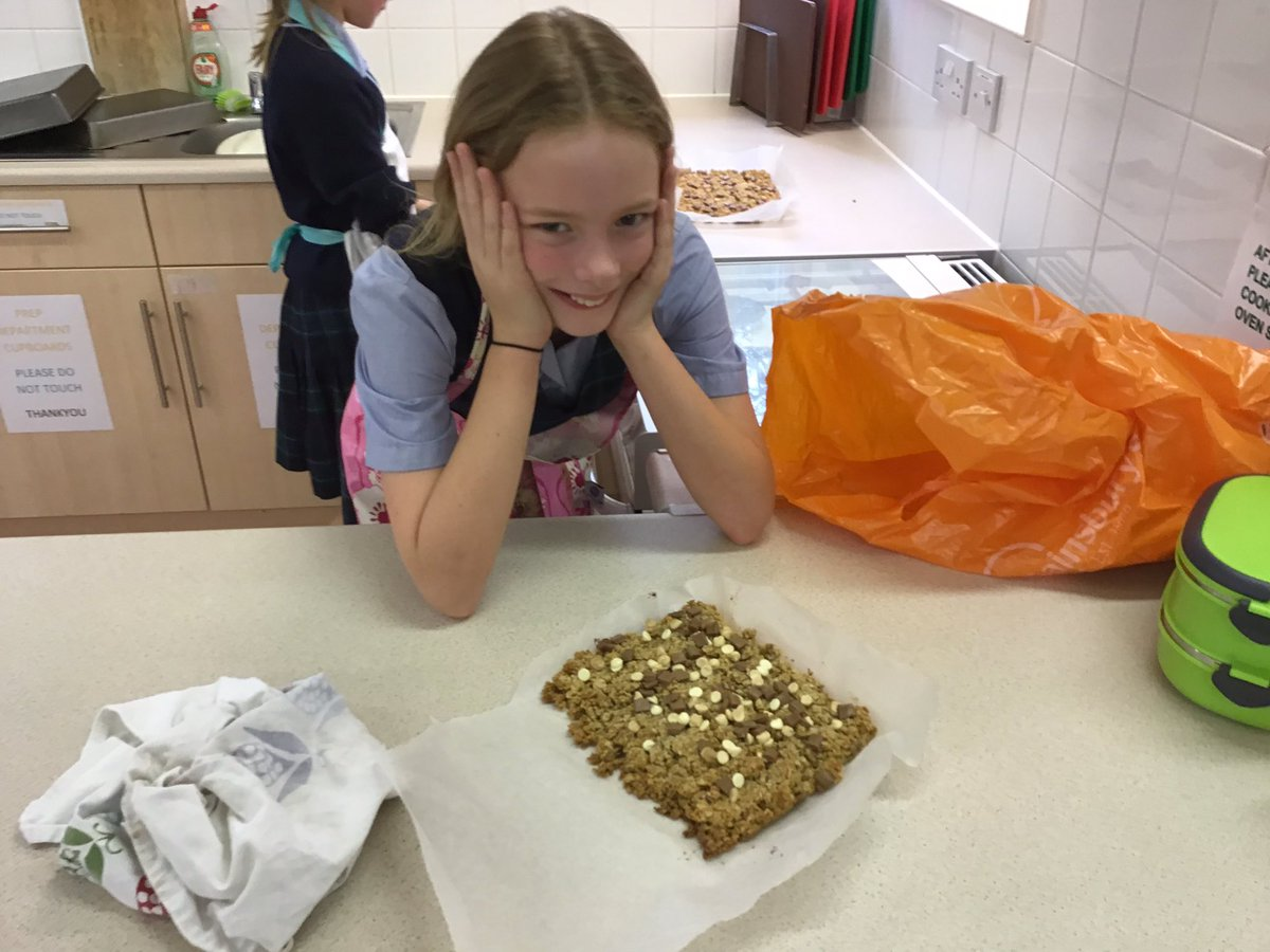 We have made delicious flapjacks! #UnforgettableExperiences
