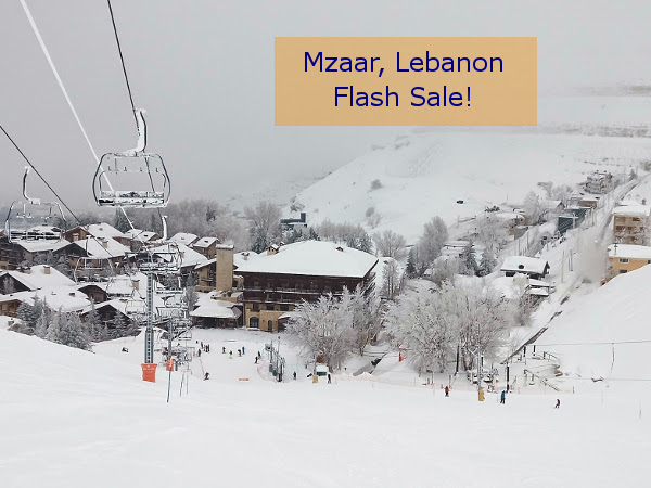 #Mzaar Ski Resort Special Offer For Green Monday – #SkiLebanon from €220 per person!  https://t.co/7WGoQlGhJc