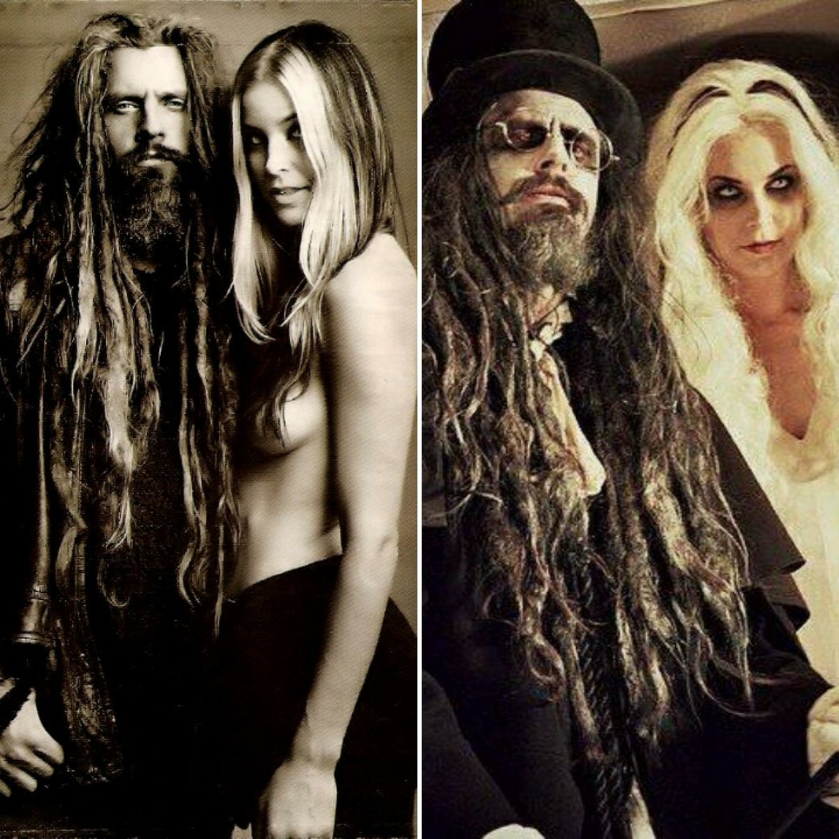 Today I wish @RobZombie & #SheriMoonZombie a most darkfully sweet and #HappyValentinesDay.   And that I still stand by what I say, that if these two were to ever (and I doubt they ever will) break up is the day I truly stop believing in #love.pic.twitter.com/mgBb7KckmH