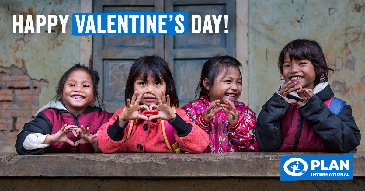 For the love of children's rights, #HappyValentinesDay! Thank you for continuously helping us to unleash the potential of children around the world!http://bit.ly/2SFjg7m pic.twitter.com/OnG4nXkTpm