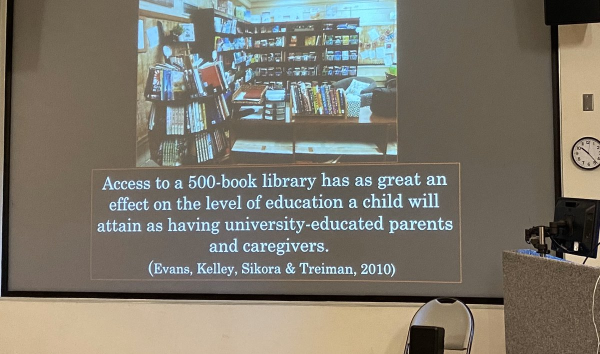We need to flood the world with books. Eliminate book deserts. @donalynbooks @KellerLibraries