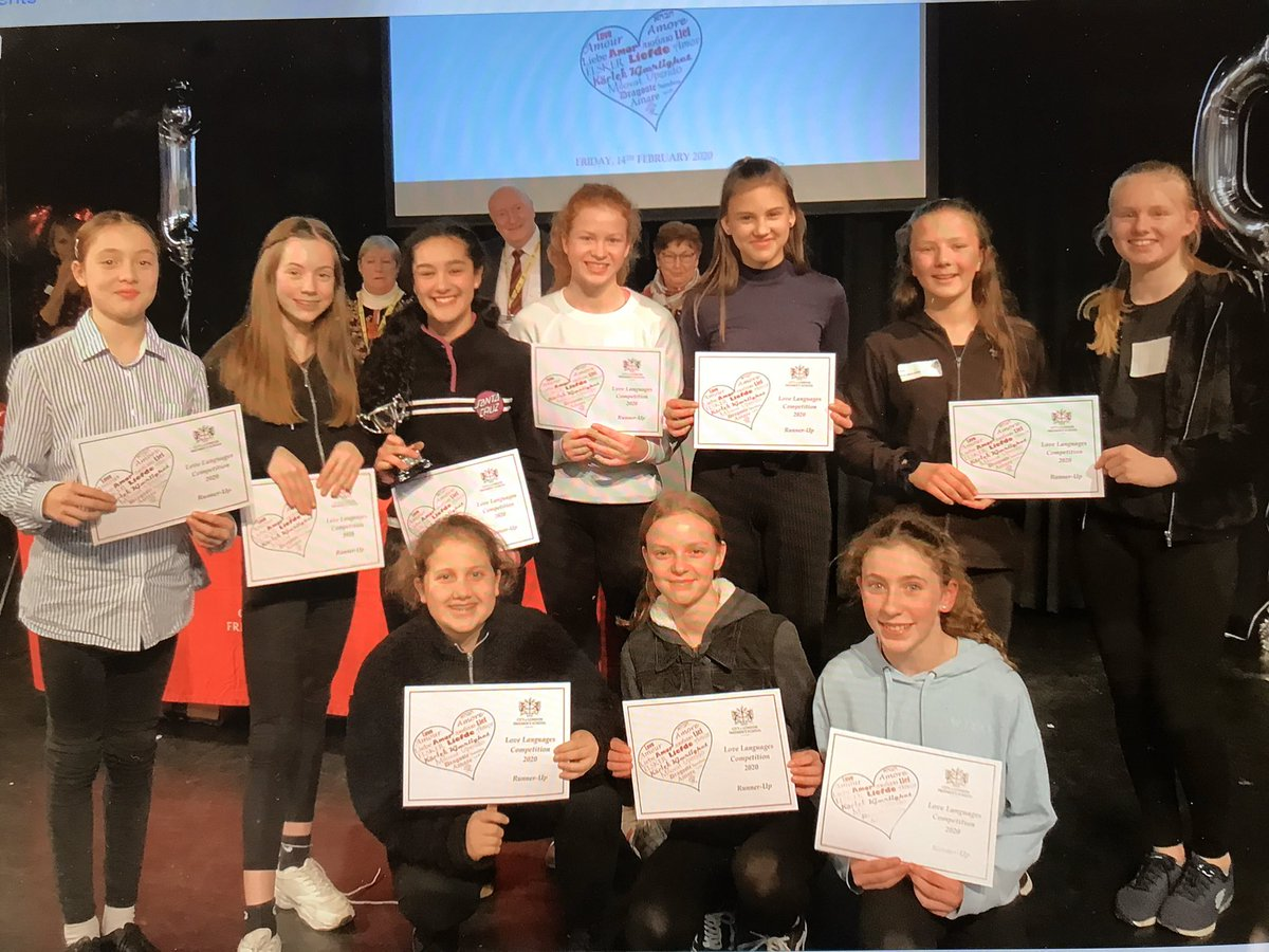 A fantastic day at City of London, Freemen's School today. In the Love Languages competition, Manor House Y8 team came second. Very well done to the girls. Thank you to all at Freemen's. #Unforgettableexperiences #AcademicExcellence