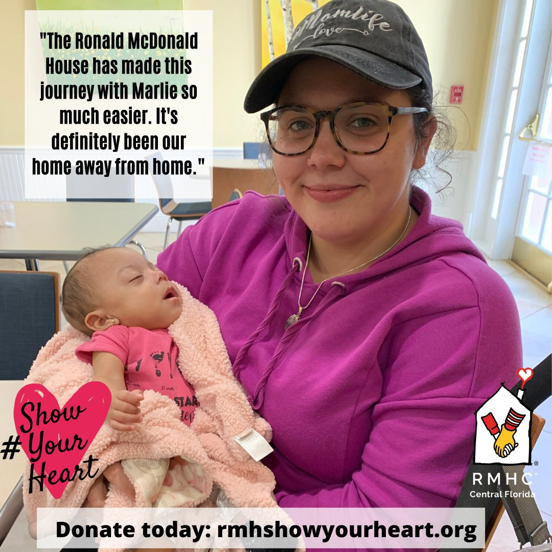 Happy Valentine's Day! You can show your love for our families by donating to our #ShowYourHeart campaign! Your donation will help families like the Quinones Family...  Plus all donations are DOUBLED by the Isaacs Family Trust! Donate today: http://bit.ly/RMHShowYourHeart… pic.twitter.com/pnFaiogNIk